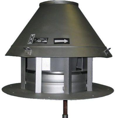 Крышные радиальные вытяжные вентиляторы