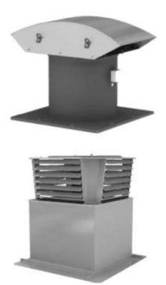 Крышные приточные вентиляторные установки
