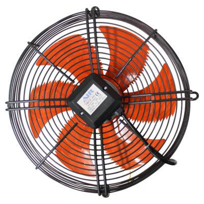 Осевые вентиляторы на решетке